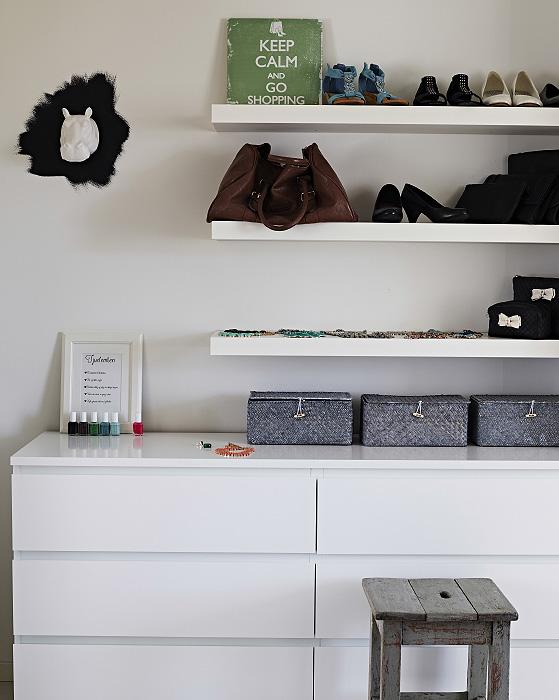 Hjemmet vårt ble publisert på IKEAs hjemmesider internasjonalt - walk in garderoben