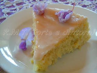 """dolce di mandorle e limone: Torta """"Dea"""""""