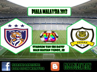 Keputusan Darul Takzim vs Perak 25 Januari 2013  - Piala FA 2013