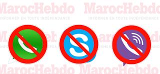 Skype bloqué au Maroc
