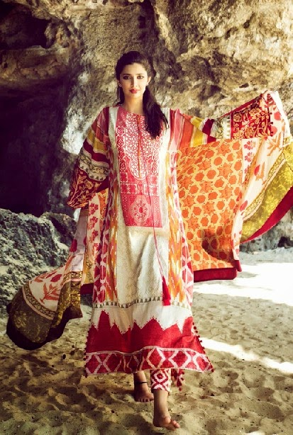 ELANLawnSpring SummerCollection2014 wwwfashionhuntworldblogspotcom 15 - Elan Lawn Spring Collection 2014 By Khadijah Shah