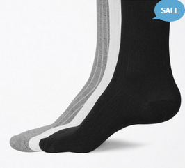 Buy Set Of 3 Socks  UniSex at Rs.99 : Buy To Earn