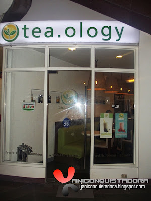 Tea.ology in Katipunan, Quezon City