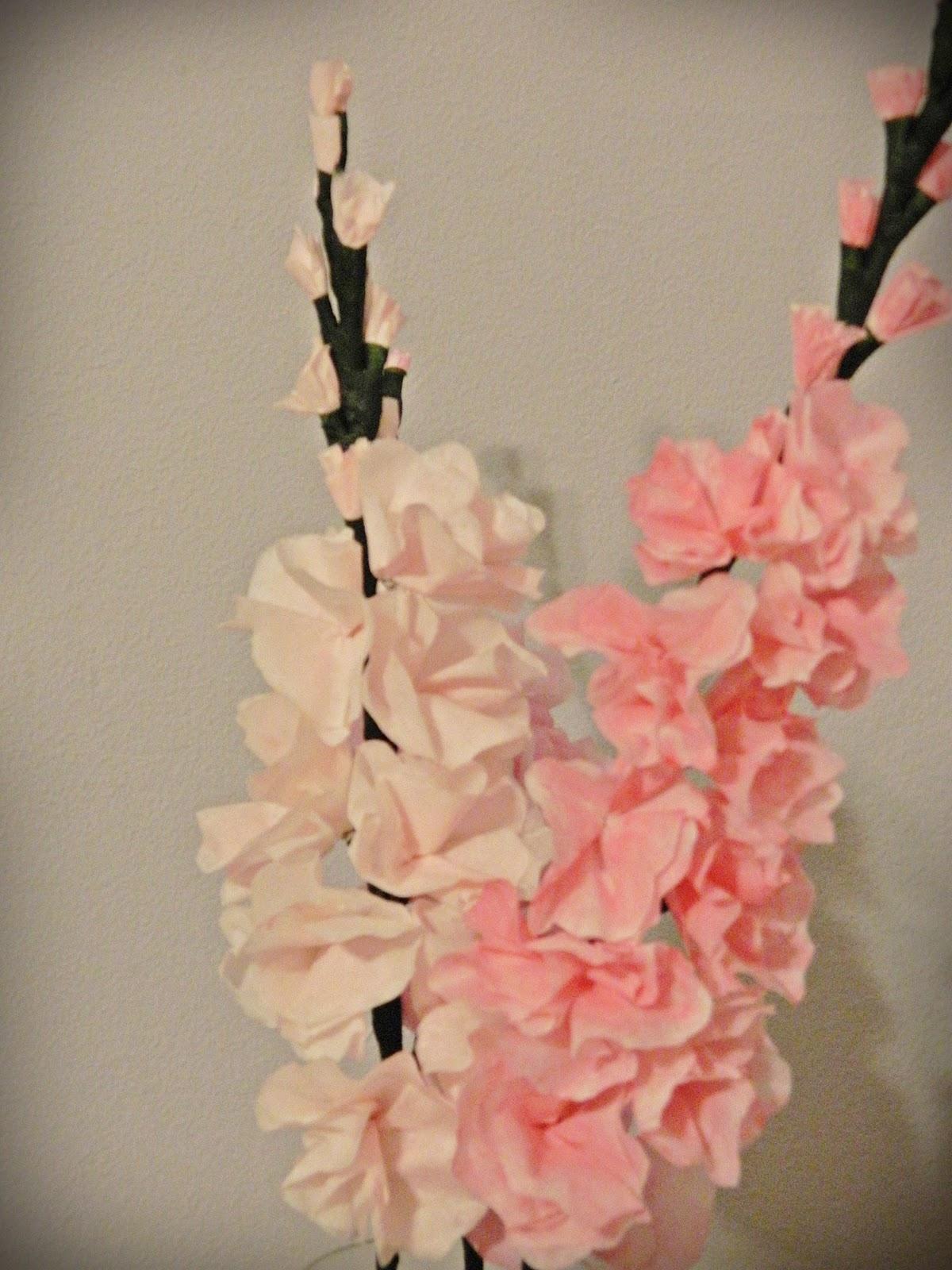 Paper Pendulum Coffee Filter Gladioli