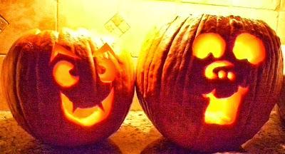 Korean pumpkins on Halloween Days