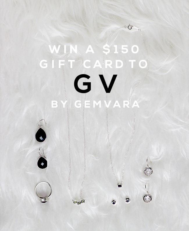 GIVEAWAY // Win a $150 Gift Card to GV By Gemvara from Bubby & Bean!