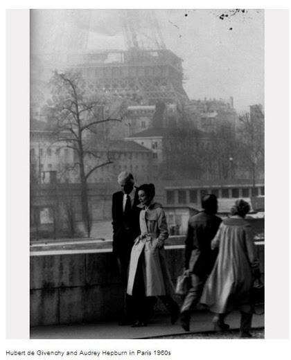 Audrey Hepburn e Hubert de Givenchy a Parigi
