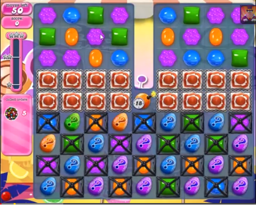 Level 294 | Candy Crush tips level 294