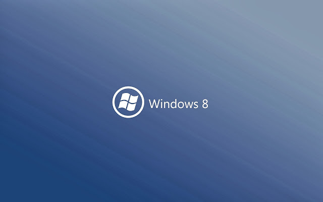 Windows 8 DarkSlateBlue Wallpaper