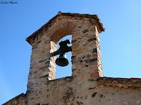 Campanar d'espadanya de l'ermita de Sant Hilari. Autor: Carlos Albacete