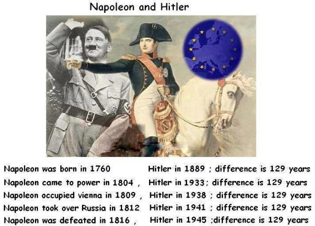 my english  napoleon and hitler