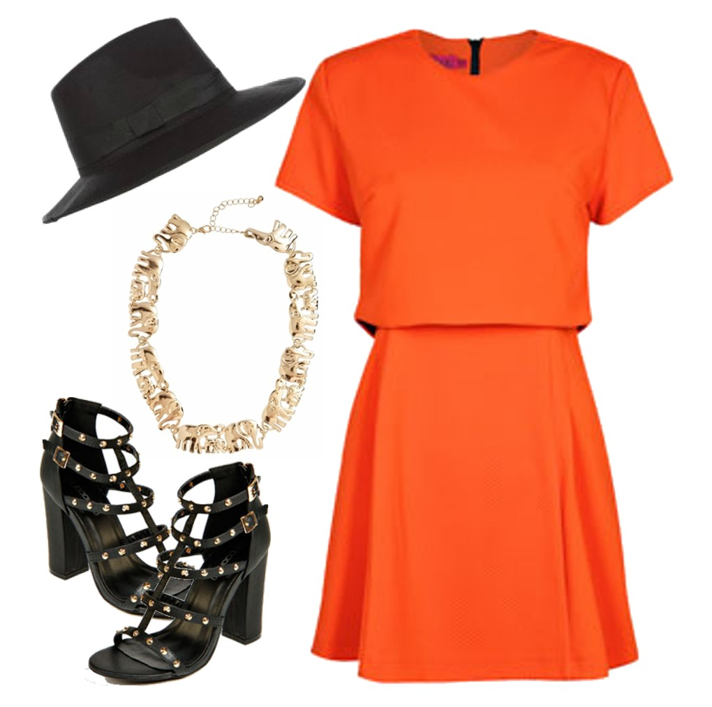 2014 Fashion Trends How To Wear Orange