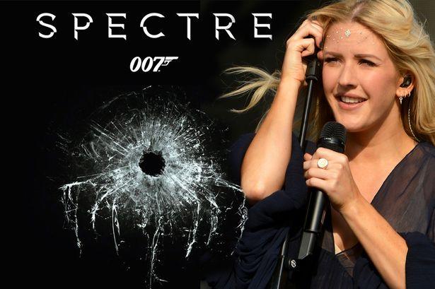 Ellie Goulding poderá ter gravado um tema para SPECTRE