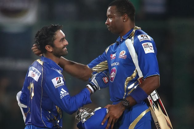 Dinesh-Karthik-Trinidad-and-Tobago-vs-Mumbai-Indians-Report CLT20-2013