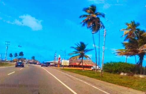 As praias visitadas pertenciam o Parque Morrocoy entre as cidades de Tucacas e Chichiriviche.
