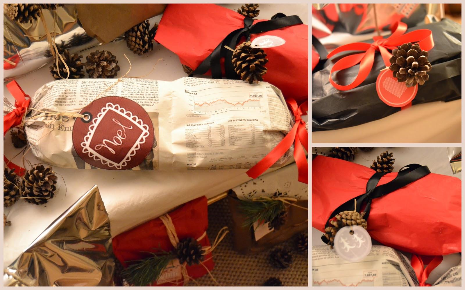Nieve en noviembre paquetes de regalo diy - Paquetes de regalo ...