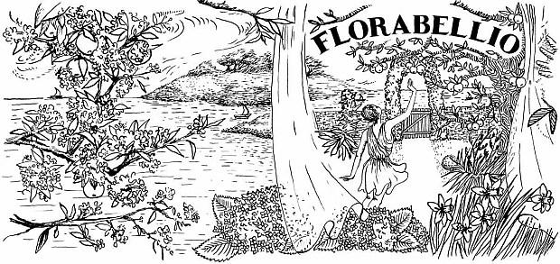 Diptyque Florabellio - grafika promująca zapach