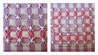 http://roycedavids.blogspot.ae/2014/01/gingham-embroidery-ribbon-lace-stitch.html
