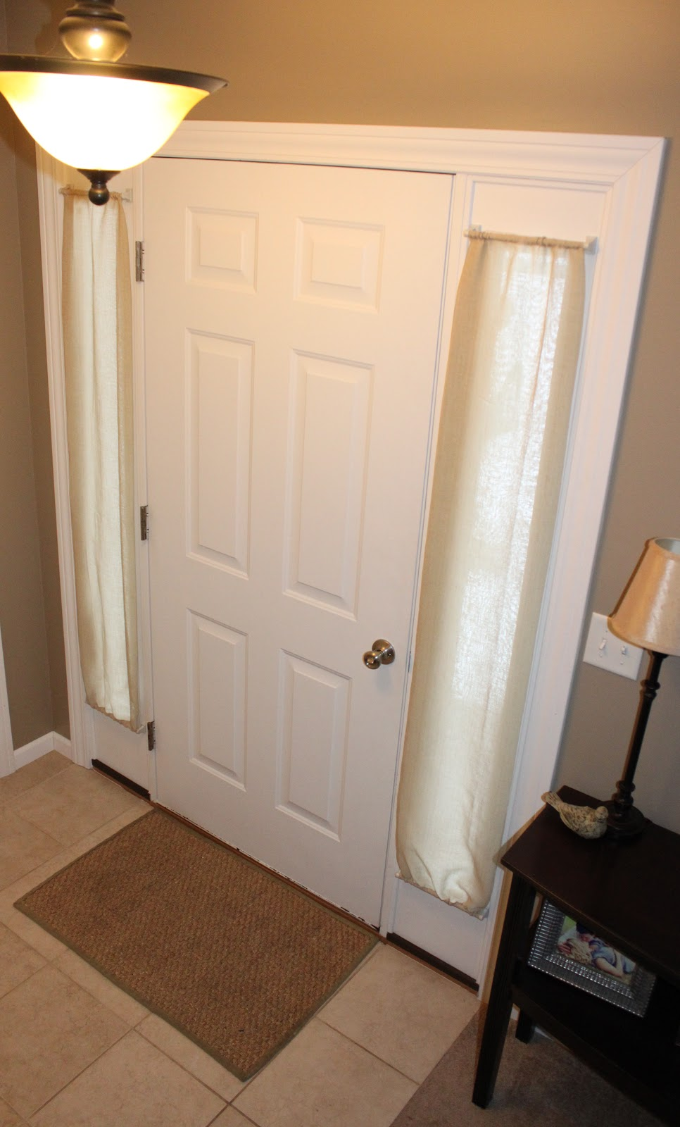 Small Window Curtains For Front Door