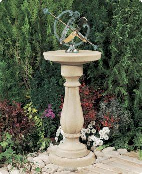 Garden Armillary Sundial