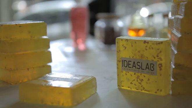 Ideaslab - Jabón para una ducha creativa