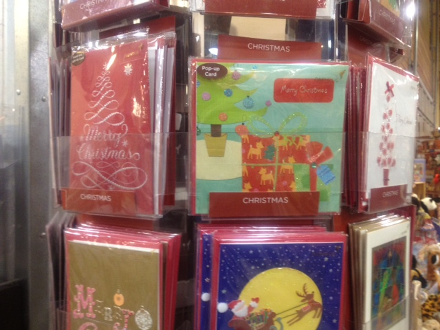 one of my christmas cards is hanging out on the card rack at whole foods this season this is what it looks like - Whole Foods Christmas Hours