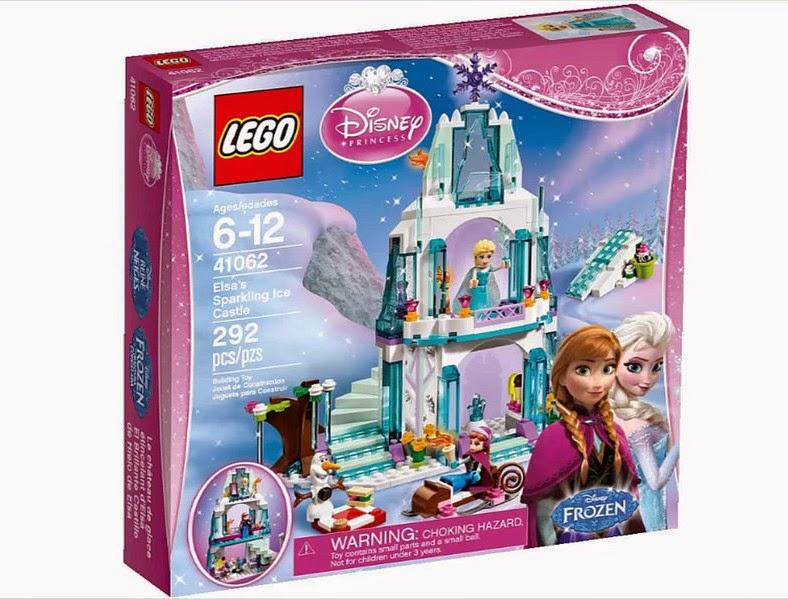 TOYS : JUGUETES - LEGO Princesas Disney  41062 El brillante castillo de hielo de Elsa : FROZEN   LEGO Disney Princess - Elsa's Sparkling Ice Castle  Producto Oficial 2015 | Piezas 292 | Edad: 6-12 años