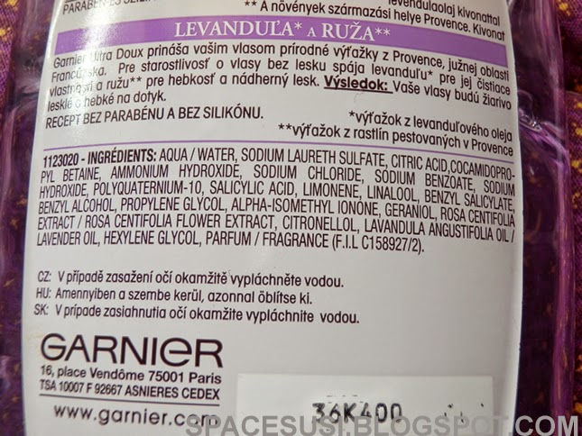recenze kosmetiky, Garnier blogspot
