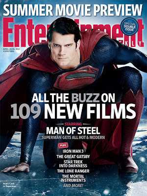 "This Week's Cover: Behind the soulful new 'Man of Steel' by EW staff Tags: CapeTown: Movies, Comic Books, Man of Steel, This Week's Cover, Movies       Comments +     Add comment  1255-1256-EW-COVER-MANOFSTEEL.jpg  The makers of Man of Steel had to start thinking like a cadre of supervillains: how do you get under Superman's invincible skin and really make him hurt?  This week's cover story reveals how the new film (out June 14) attempts to humanize the superhuman by finding new flaws and vulnerabilities. The most common one, however, was off the table: ""I'll be honest with you, there's no Kryptonite in the movie,"" says director Zack Snyder (300, Watchmen) Those glowing green space rocks – Superman's only crippling weakness – have turned up so often as a plot point in movies, the only fresh option was not to use it. Anyway, if you want to make an audience relate to a character, a galactic allergy isn't the way to do it.  Henry Cavill (Immortals), the latest star to wear the red cape, instead plays a Superman who isn't fully comfortable with that god-like title. This film reveals that even on Krypton, young Kal-El was a special child, whose birth was cause for alarm on his home planet. (More on that in the magazine) And once on Earth, his adoptive parents, Ma and Pa Kent (Kevin Costner and Diane Lane), urge him not to use his immense strength – even in dire emergencies — warning that not every human would be as accepting of him as they are. So Clark Kent grows up feeling isolated, longing for a connection to others, and constantly hiding who he is. As a result, Man of Steel presents the frustrated Superman, the angry Superman, the lost Superman. ""Although he is not susceptible to the frailties of mankind, he is definitely susceptible to the emotional frailties,"" Cavill says.  That's just the set-up. Once the Kryptonian villain General Zod (Boardwalk Empire's Michael Shannon) arrives to threaten the Earth, eventually the passionate Superman steps forward, too. It helps that he has a reason to care about the home he's defending, and we can all thank Amy Adams' Lois Lane for that. ""I think she's very transient. She's ready to pick up and go at a moment's notice,"" Adams says of the hard-bitten journalist. ""I think that definitely could be part of what she sees in Superman — not really laying down roots, not developing trust.""  GET EW ON YOUR TABLET: Subscribe today and get instant access!  Based on footage EW has seen, the film (which was directed by Zack Snyder and shepherded by Christopher Nolan) has plenty of building-smashing, train-slinging, heat-vision-blasting battles to cut through the emotional heaviness. ""You want to give the audience great spectacle. You want them to go to the movie, be eating their popcorn and be like, 'Wow!'"" says Man of Steel producer Charles Roven, who also worked on The Dark Knight trilogy. ""But it's just not good enough to give them the 'Wow.' You want them to be emotionally engaged. Because if you just have the 'wow,' ultimately you get bludgeoned by that and you stop caring.""  Those who've long felt the super-confident, super-controlled Superman has gotten super dull may be glad to see him finally challenged in ways that go beyond bullets bouncing off of his chest."