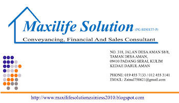 Maxilife Solution (PG 0250177-P)