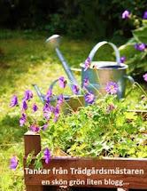 Trädgårdsbloggar indelade enligt zoner i Sverige