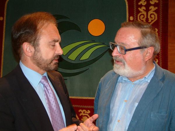 Con Fernando Sabater
