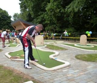 UrbanCrazy Mini Golf course in Barnard Castle, County Durham