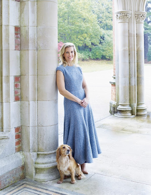 The Countess of Wessex talks to Harper's Bazaar