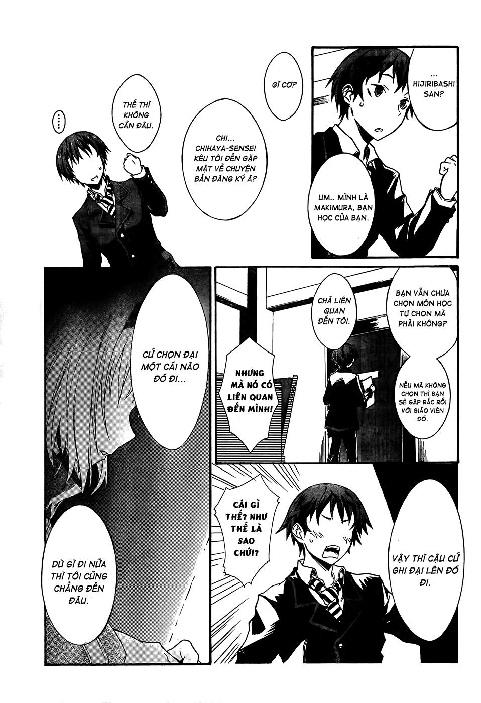 Seitokai Tantei Kirika chap 0 - Trang 15