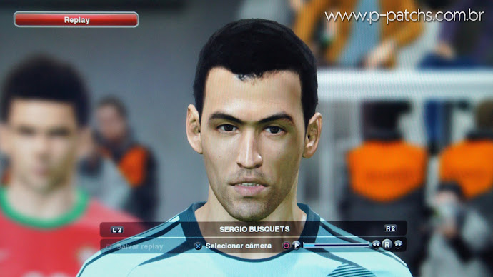 Face do Sergio Busquets no PES 2014