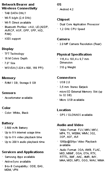 Samsung Galaxy Tab 3 Lite 7 Manual And Troubleshooting Manual Guide