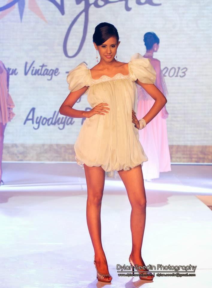 Arunika Ranawana spicy short dress