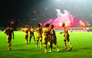 Sriwijaya FC Juara ISL (Indonesia Super League) 2012