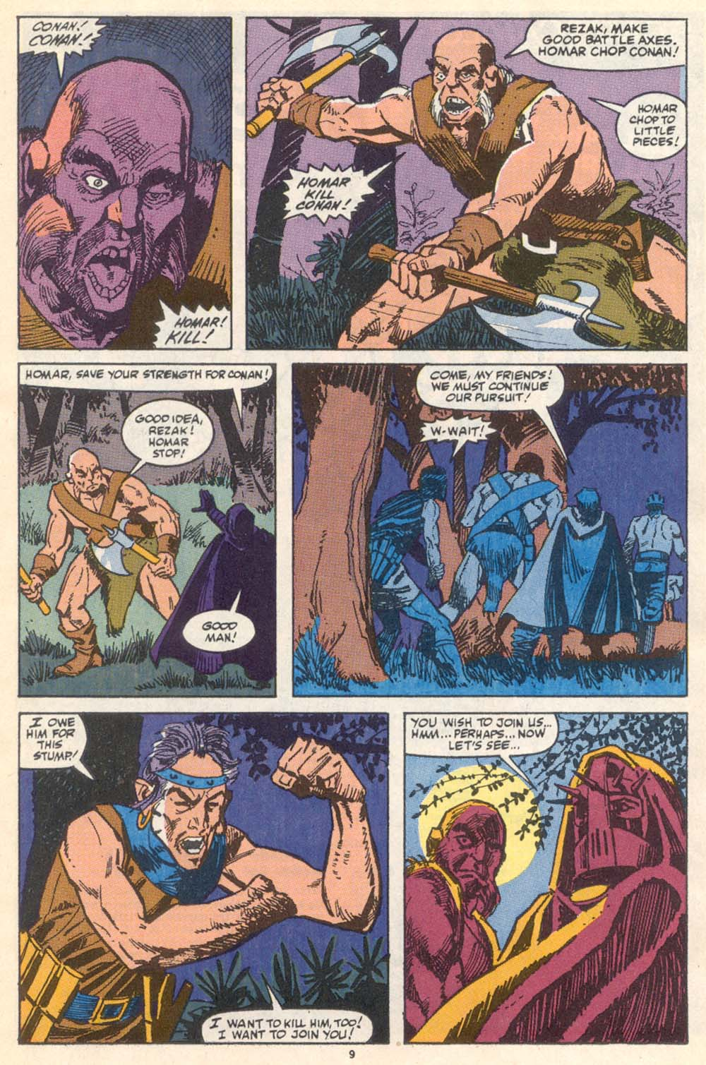 Conan the Barbarian (1970) Issue #222 #234 - English 8