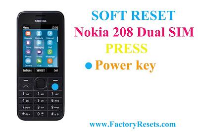Soft-Reset-Nokia-208-Dual-SIM