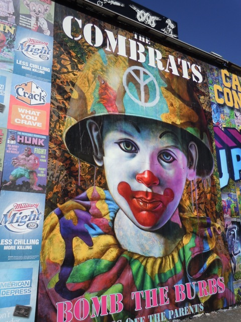 The Combrats poster Melrose Avenue