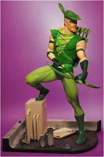 Green Arrow (Oliver Queen) Character Review - Mini Statue Product