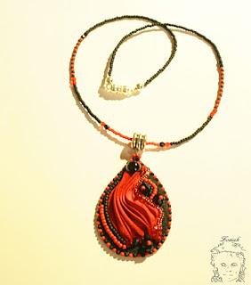 Shibori czerwone / Red shibori