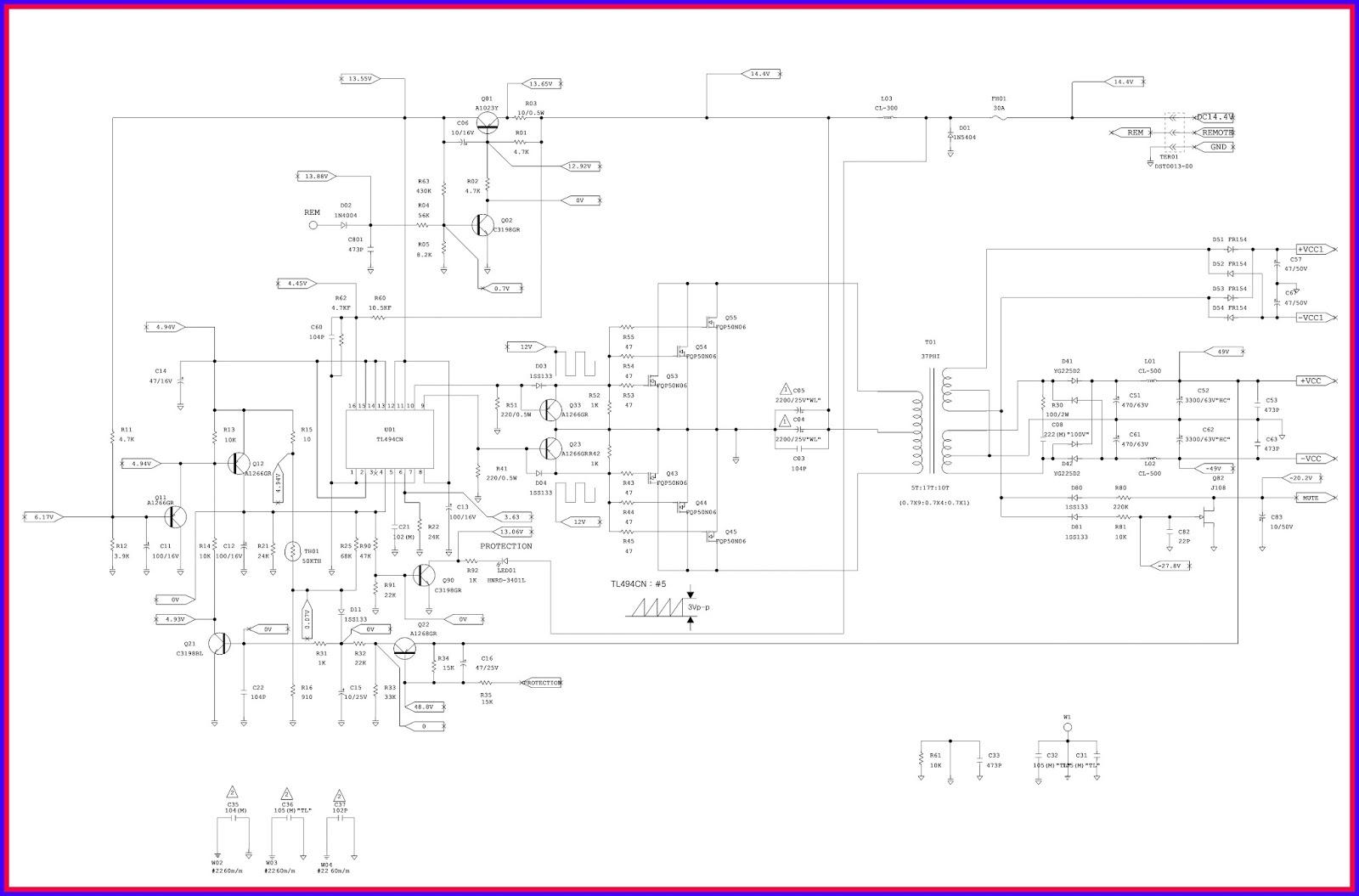 electronic equipment repair centre jbl gto series 301 1 car rh electro medical blogspot com 2003 Toyota 4Runner Radio Wiring Diagram Amp Wiring Diagram