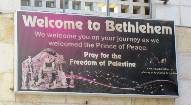 Welcome to Bethlehem / SouvenirChronicles.blogspot.com
