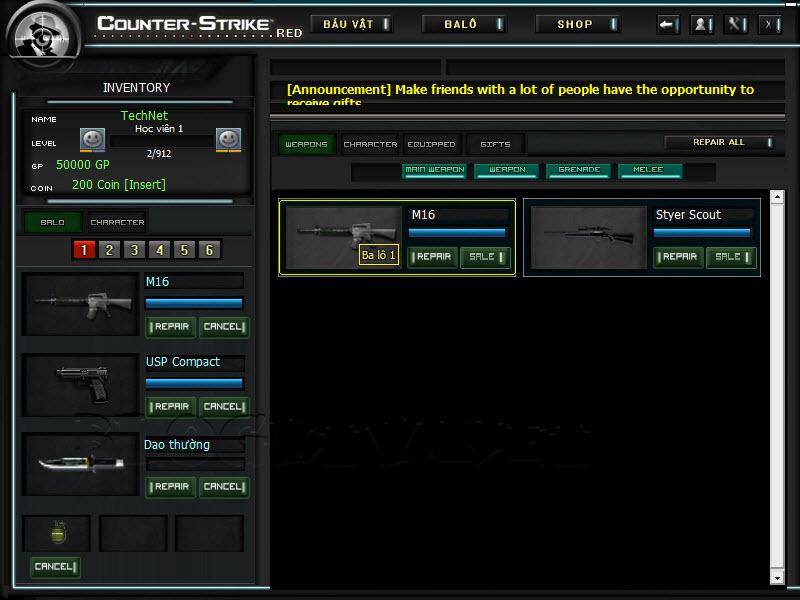 Crossfire Offline versão 2012 CS-Red-2012-v5.2.5