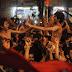 Indian fans celebrate, Pak fans heartbroken