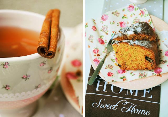 Ciasto marchewkowe z orzechami i cynamonem
