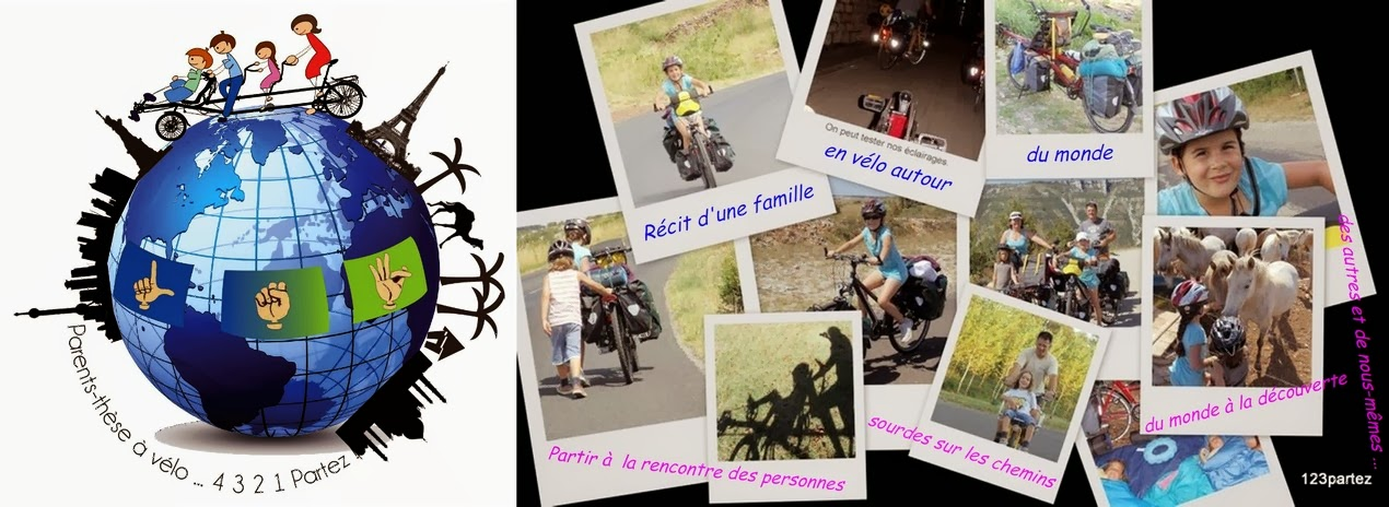 Parents-thèse-à-vélo...4, 3, 2, 1, partez